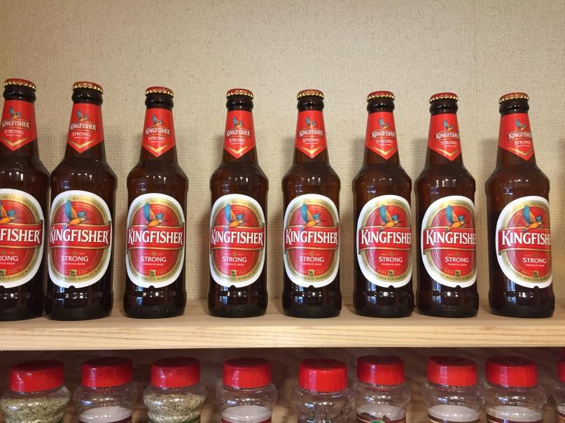 インドビールKing Fisher