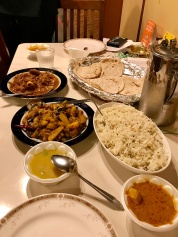 オリッサ料理の会のお食事
