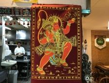 ハヌマーンは猿の風貌をしたインドの神様です